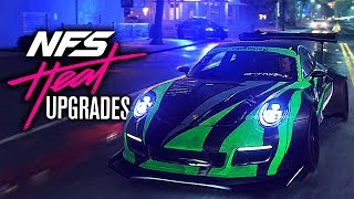 Need for Speed HEAT Gameplay - Performance Upgrades & DRIFT / RACE Handling Detailed!