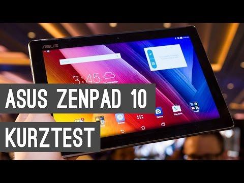 ASUS ZenPad 10: Lollipop-Tablet mit Tastatur Dock ausprobiert!