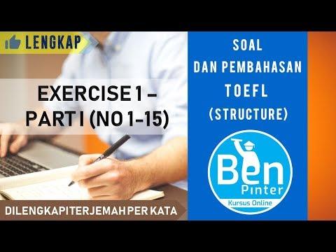 photograph relating to Toefl Exercises Printable called Soal dan Pembahasan TOEFL (Layout) ✅ Fitness 1 - Bagian