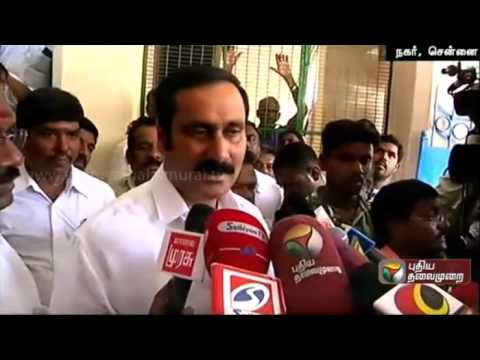 Anbumani-Ramadoss-addressing-reporters-about-training-to-aspiring-candidates
