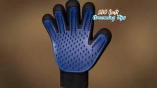 Перчатка для вычесывания шерсти животных True Touch от компании Телемагазин - видео