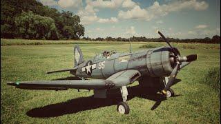 Maiden Flight - Flightline Corsair FPV