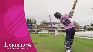 Lord's Pavilion Six Hit Challenge 1 - McCullum, Morgan, Simpson & Fuller
