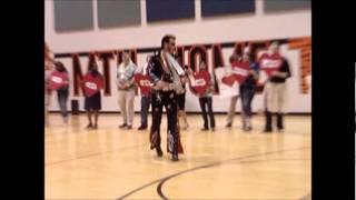 John Stewart Performs at MH Jr. High as Elvis