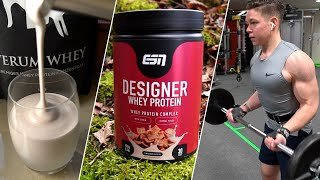 Welches Proteinpulver für maximalen Muskelaufbau? | Fitness Food Corner