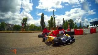 preview picture of video 'e-Kart 2013 - Tour de piste en kart électrique à Vierzon'