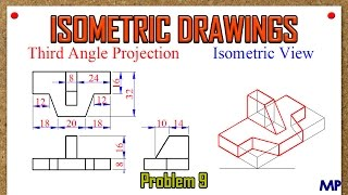 Isometric Views Problem 9