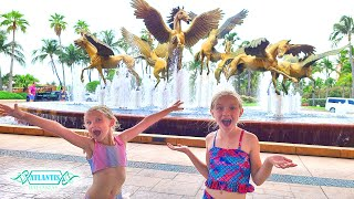 Best Tour of Atlantis Bahamas Waterpark The Cove & Royal Resorts!!!