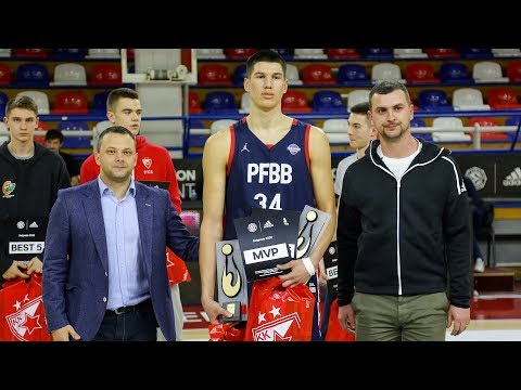 EB ANGT Belgrade MVP Highlights: Daniel Batcho, U18 CFBB Paris
