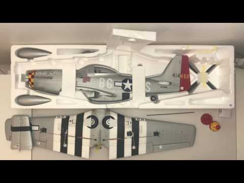 Unboxing // P-51D Mustang // 1100mm // Eleven Hobby