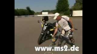 preview picture of video 'Schräglagentraining Motorrad MS2'