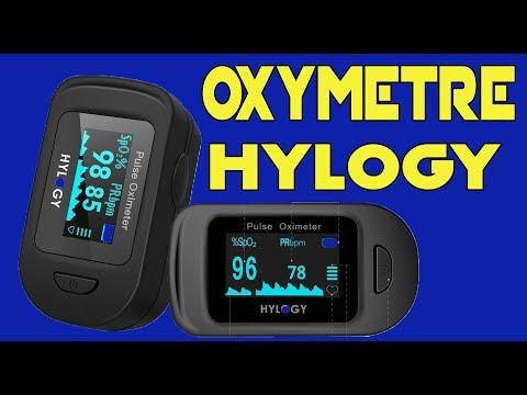 Unboxing Test HYLOGY Oxymètre De Pouls Surveillance d'oxygène et du rythme cardiaque Ecran Oled  !