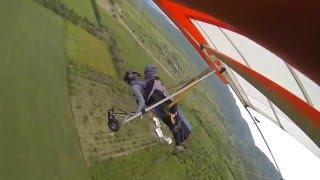 Полёты на дельтаплане в тандеме, июнь