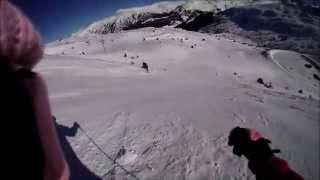 preview picture of video 'Skiing Soldeu 01/01/15'