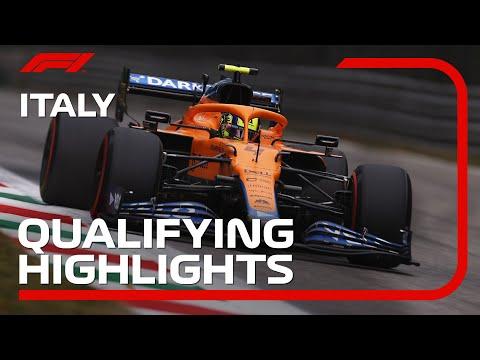 F1第14戦イタリアGP(モンツァ)予選タイムアタックハイライト動画