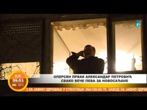 Prvak Srpskog narodnog pozorišta izvodi operu za svoje komšije u Novom Sadu