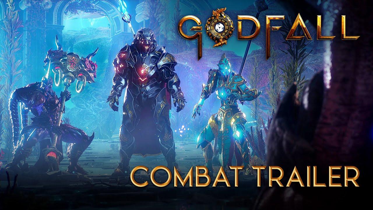 在近日舉行的 PAX Online 中 Gearbox 帶來了《Godfall》的全新遊戲預告,本作將於2020年底登陸PS5和Epic遊戲商城。 Maxresdefault