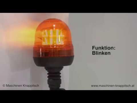 LED Rundumlicht, Blitzleuchte 16 LED's