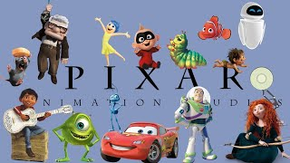 The Evolution Of Pixar | 1995 2019