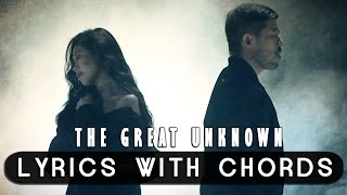 Sarah Geronimo feat. Hale - The Great Unknown [Official Lyric Video with Chords]