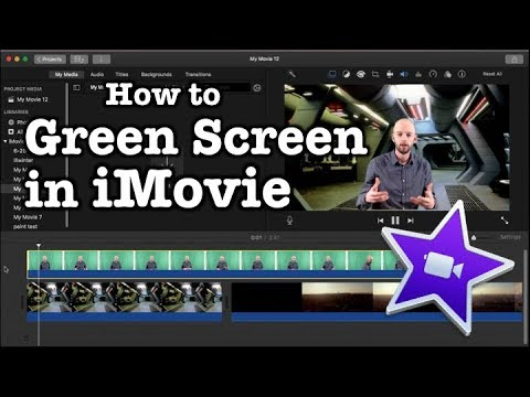 Green Screen in iMovie tutorial (Updated – 2018)