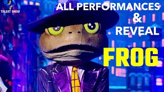 THE MASKED SINGER - FROG | All Performances and Reveal | Season 3