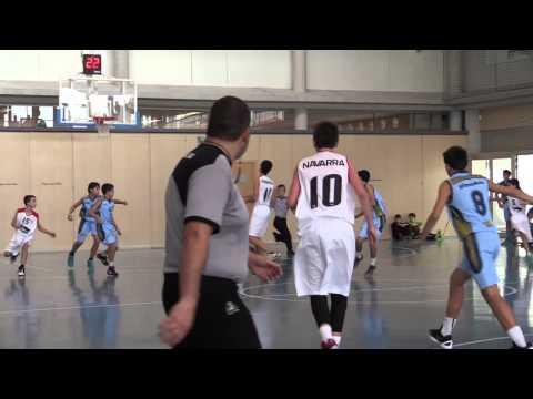 Baloncesto Infantil Navarra VS Guipúzcoa (1º cuarto)