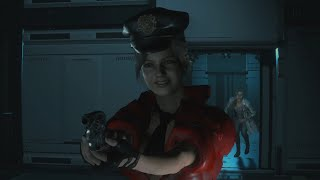 Claire Naughty RPD Hot Sexy Red Cop RE2