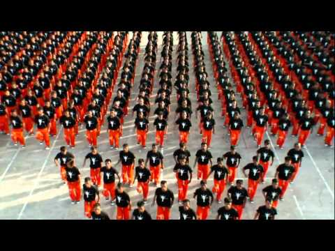 Фото Танец заключенных в память о Майкле Джексоне
