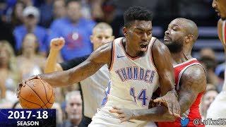 Dakari Johnson Full Highlights vs Clippers - 9 Pts, 1 Blk [11.10.2017]