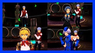 Persona 3: Dancing Moon Night (JP) - Light The Fire Up In The Night [Video W/ All Partners]