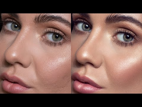 photo retouching tutorial on skin using dodge and burn by vera change
