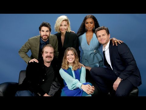 , title : 'Angela Bassett, Darren Criss, Maggie Gyllenhaal and other actors discuss their latest TV roles'