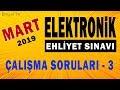 MART 2019 ELEKTRONİK Ehliyet Sınav SORULARI ve CEVAPLARI 3