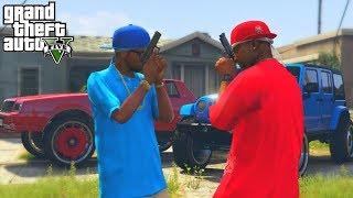 "GTA 5 BLOODS VS CRIPS ""GANG WAR"" (PC Roleplay)"
