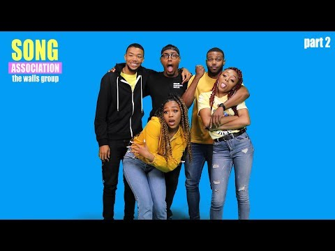 THE WALLS GROUP sings Destiny's Child, Fat Joe, and Tasha Cobbs | SONG ASSOCIATION, pt. 2