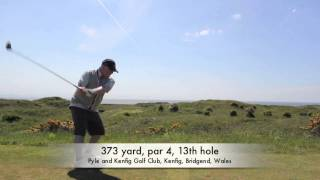preview picture of video 'Pyle and Kenfig Golf Club'