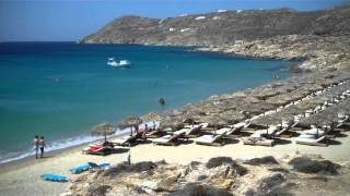 ELIA BEACH MYKONOS GREECE