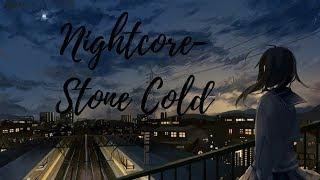 Nightcore   Stone Cold 「Lyrics」