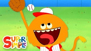 Take Me Out To The Ball Game | Kids Songs | Super Simple Songs