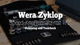 """Wera Zyklop Speed-Knarrensatz mit 1/2""""-Antrieb   Unboxing und Kurzvorstellung   Wera tool rebels"""