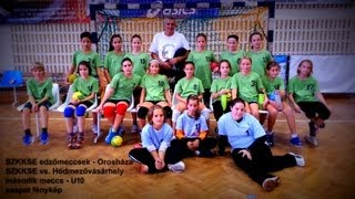 preview picture of video 'SZKKSE edzőmeccsek - Orosháza - SZKKSE vs. Hódmezővásárhely - második meccs - U10'