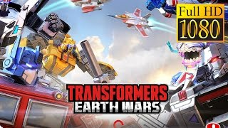 Transformers: Earth Wars Game Review 1080P Official Backflip Studios Strategy 2016