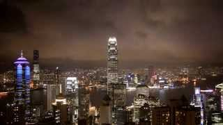 Video : China : Time-lapse view of Hong Kong 香港