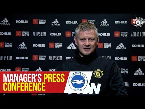 Manager's Press Conference | Brighton v Manchester United | Ole Gunnar Solskjaer