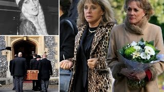 Lynsey De Paul Funeral Celebrity Paying Emotional Tribute To Eurovision Singer Oct 07 2014