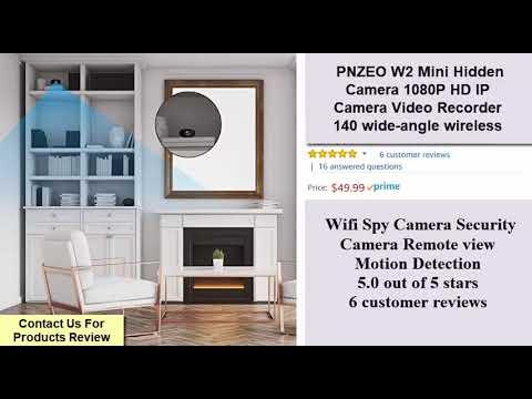 Spy Mini Hidden  Camera 1080P HD IP  Camera Video Recorder