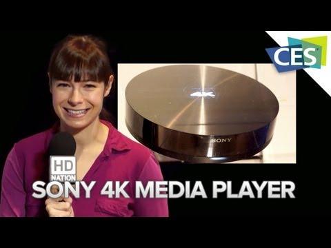 Sony 4K Media Player - CES 2013