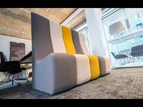 Dilim - Modulares Sofa, Sessel für Büro, Hotel, Wartebereiche - Koleksiyon Büromöbel