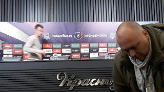 """""""Краснодар"""" - """"Зенит"""": Сергей Семак после матча"""